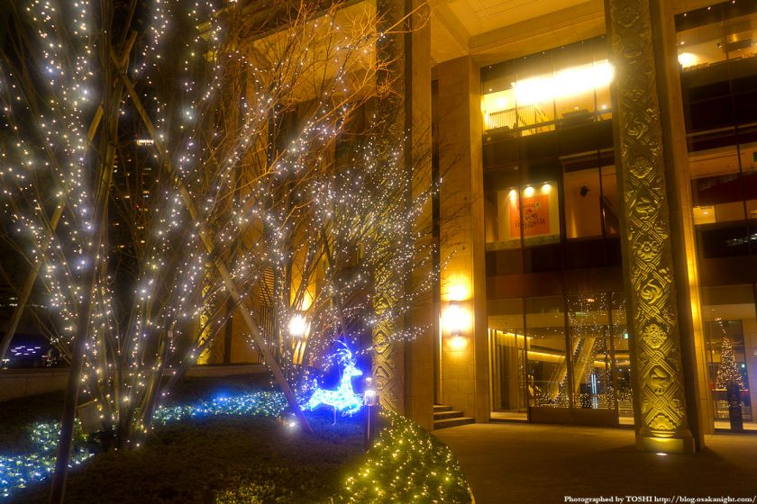 中之島ダイビル クリスマスイルミネーション2011 02