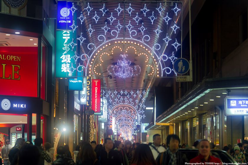心斎橋筋商店街 イルミネーション2011