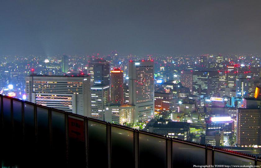 梅田スカイビルからの夜景 2002年頃