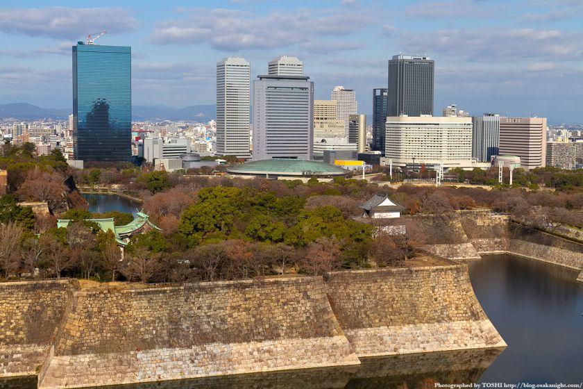 KKRホテル大阪から見たOBP方面 2012