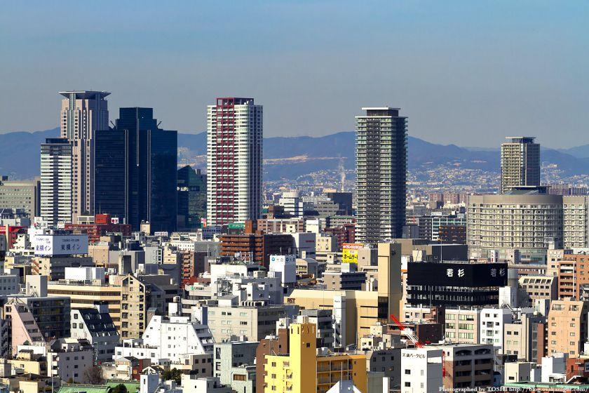 OMMビルから見た梅田方面2012 03