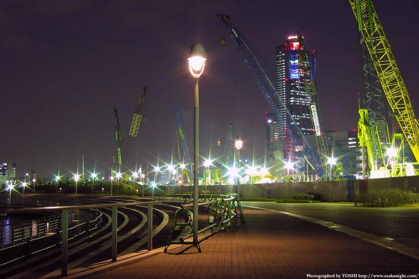 南港コスモスクエア夜景 2002年頃