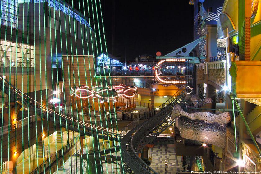 フェスティバルゲートの夜景 2002年頃
