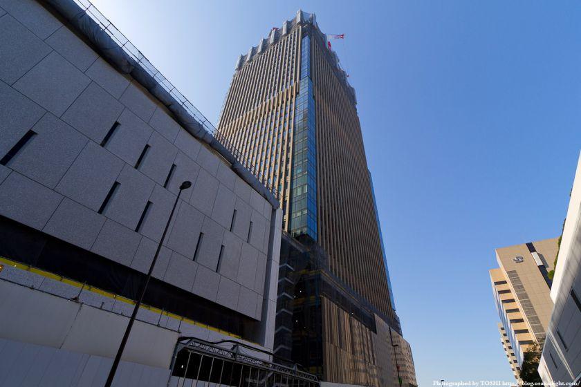 グランフロント大阪 Bブロック北タワー 2012年4月