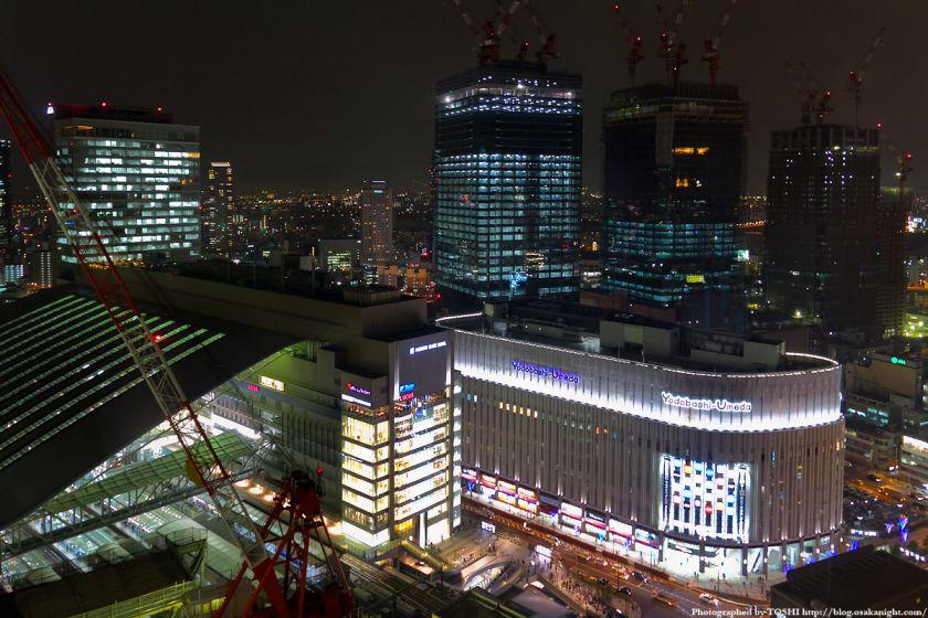 グランフロント大阪 夜景 2012年4月