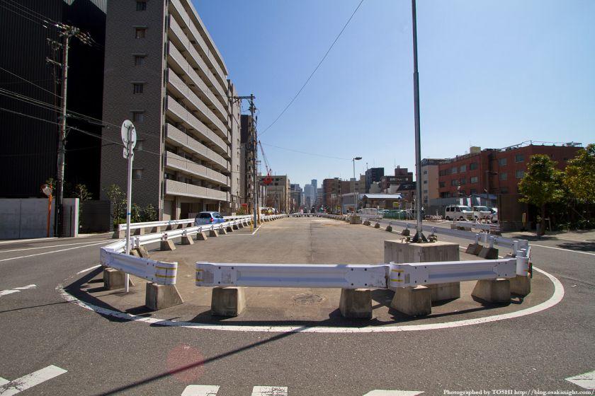 都市計画道路 本庄西天満線 2012年4月