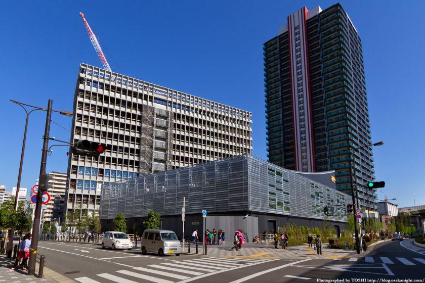 難波再開発C街区 全景 2012年4月 01