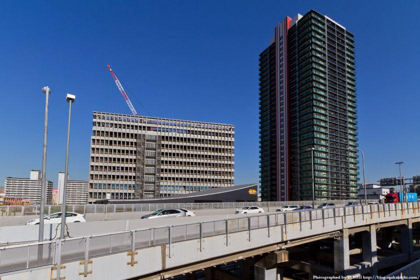 難波再開発C街区 全景 2012年4月 02