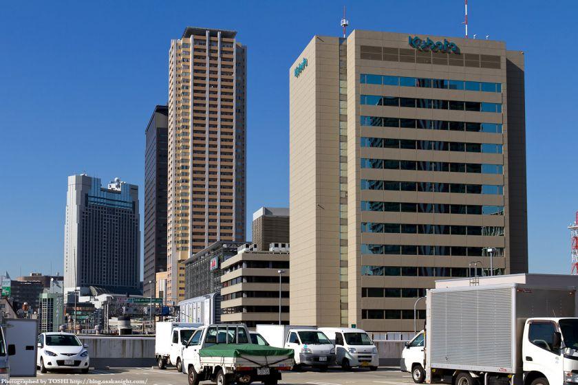 大阪難波 超高層ビル群 2012年4月