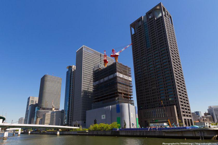 大阪中之島超高層ビル群 2012年5月