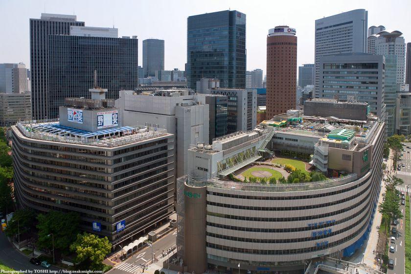 大阪神ビル& 新阪急ビル 2012年5月