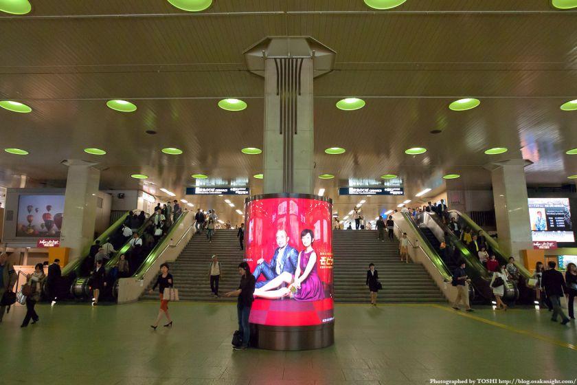 阪急梅田駅 BIGMAN前広場 2012年5月 01