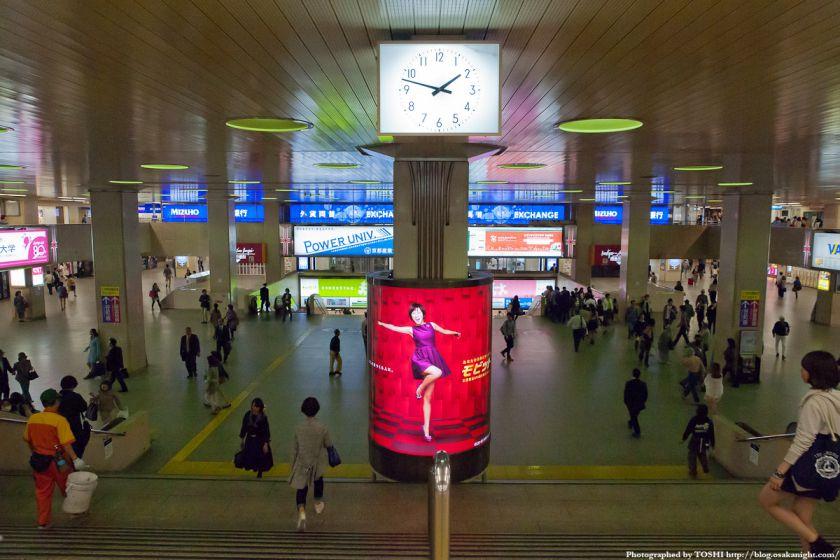 阪急梅田駅 BIGMAN前広場 2012年5月 02
