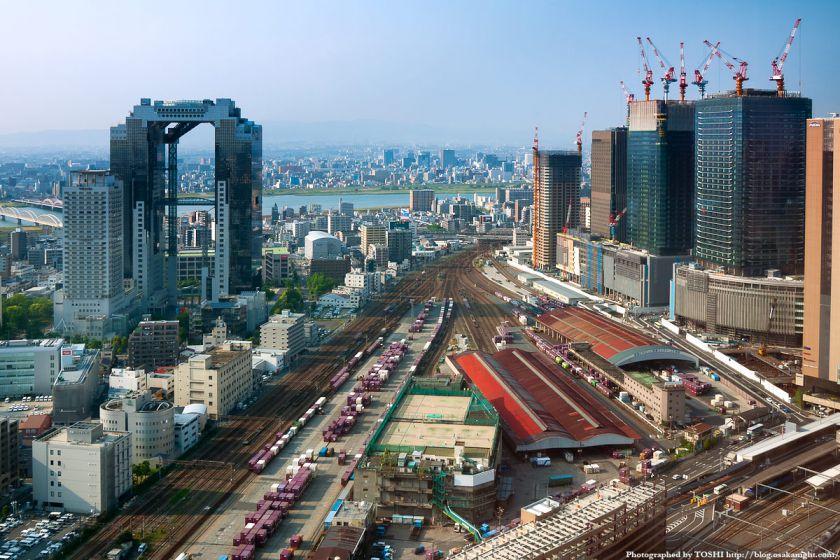 梅田北ヤード 大阪駅北地区 うめきた 2012年5月