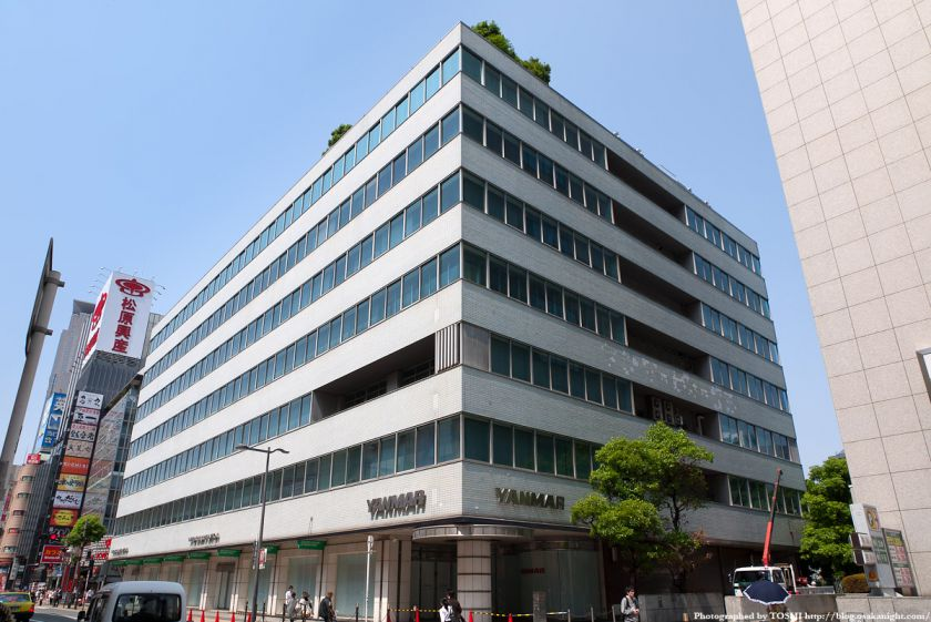 ヤンマー本社ビル 2012年5月