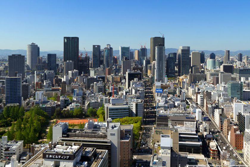 梅田〜中之島 超高層ビル群 2012年5月 01