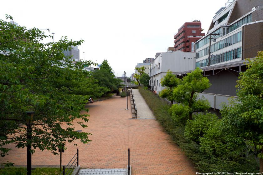 東横堀公園 2012年6月