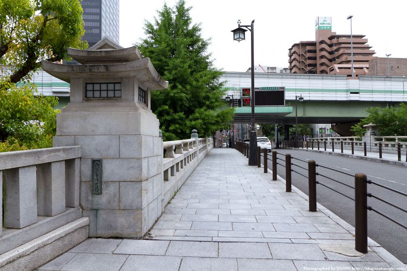 高麗橋 2012年6月