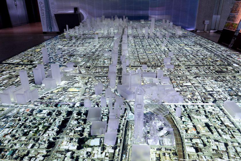 大林組 GALLERY O 大阪都市模型 01