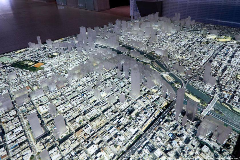 大林組 GALLERY O 大阪都市模型 02