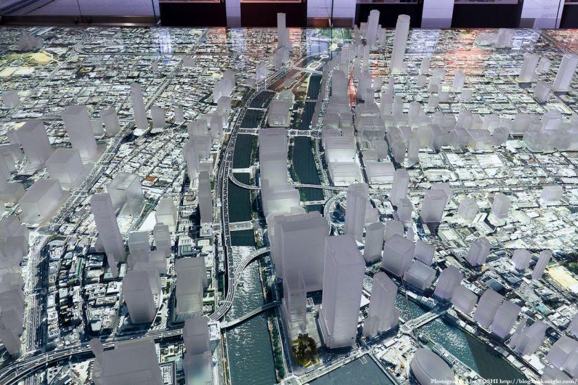 大林組 GALLERY O 大阪都市模型 中之島周辺 02