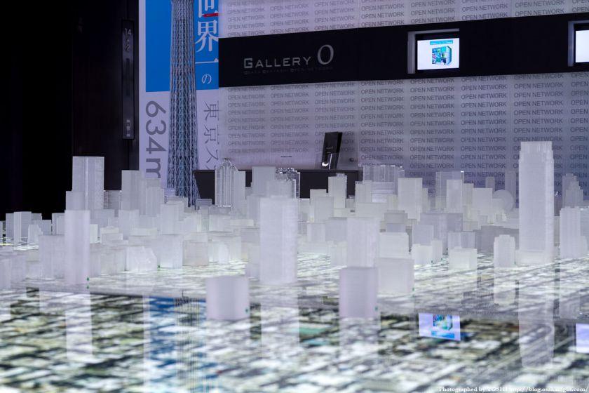 大林組 GALLERY O 大阪都市模型 03