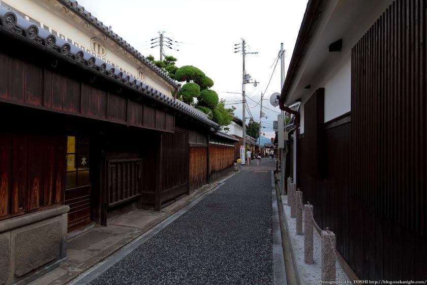 富田林寺内町の様子 2012年8月