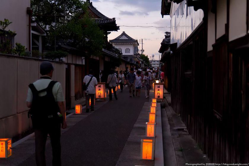 富田林寺内町燈路 2012年8月 01