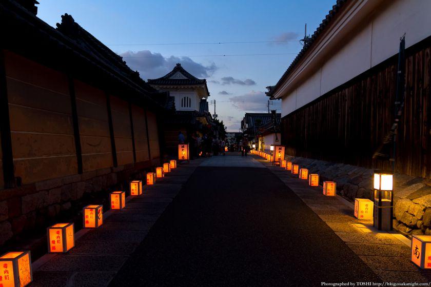 富田林寺内町燈路 2012年8月 02