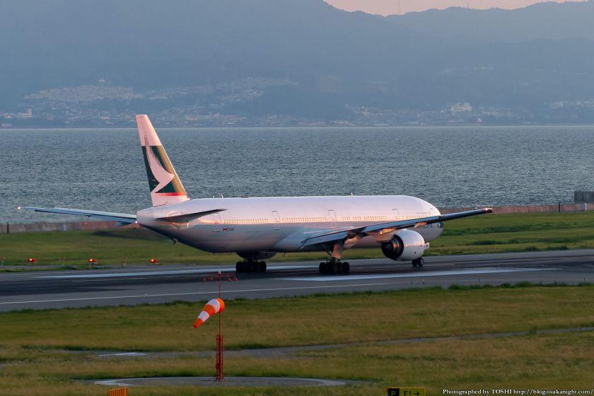 キャセイパシフィック航空 at 関西国際空港 2012年9月