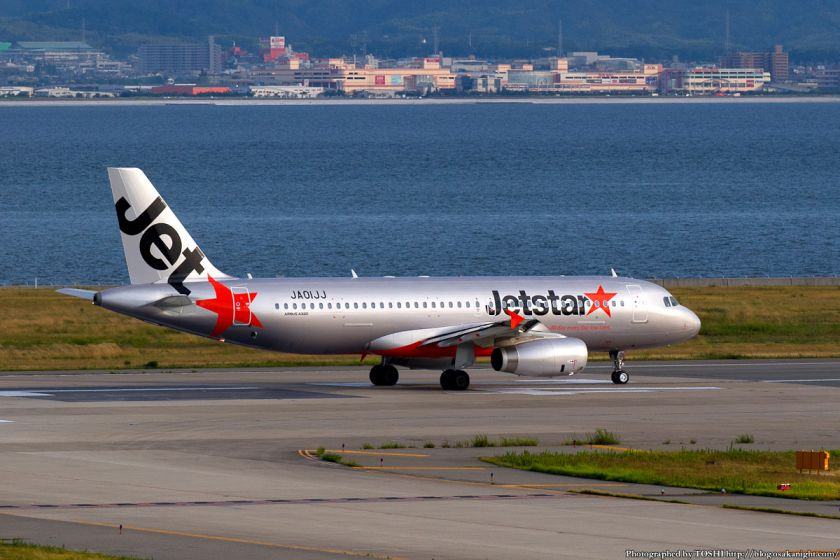 ジェットスター航空 at 関西国際空港 2012年9月