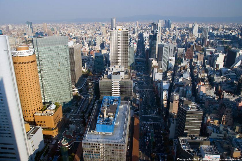 ブリーゼタワーから東方向を見下ろす
