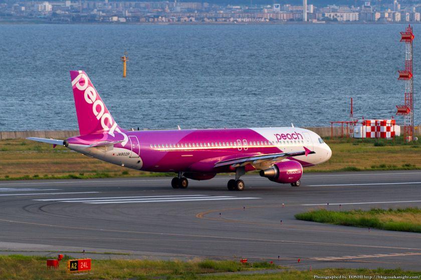 ピーチ・アビエーション at 関西国際空港 2012年9月