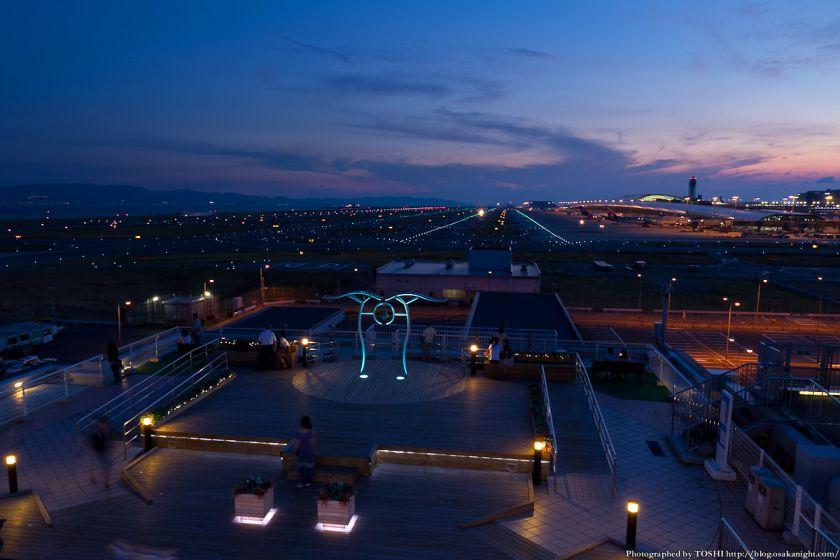 関西国際空港 夕景 2012年9月 01