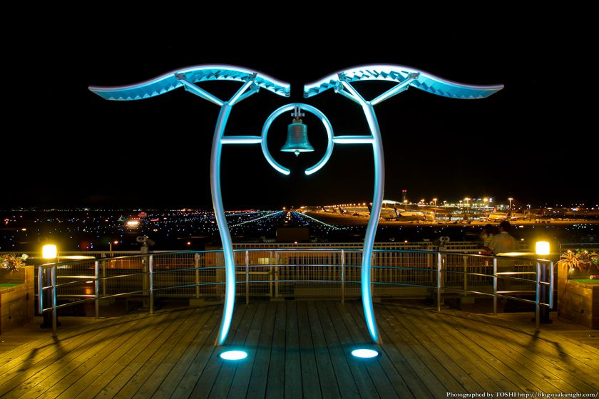関西国際空港 夜景 2012年9月 02