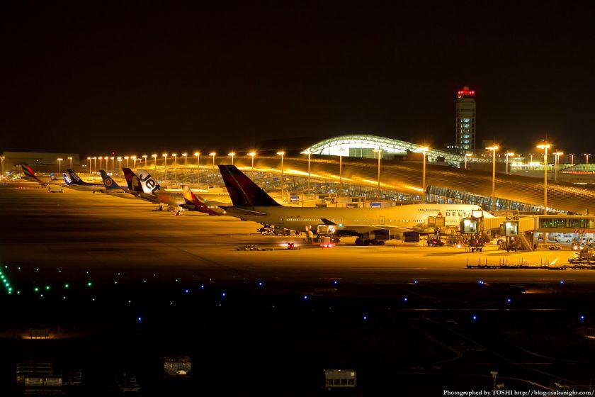 関西国際空港 夜景 2012年9月 03