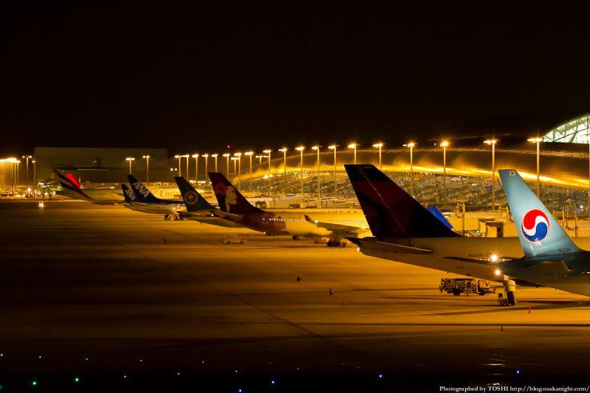 関西国際空港 夜景 2012年9月 04
