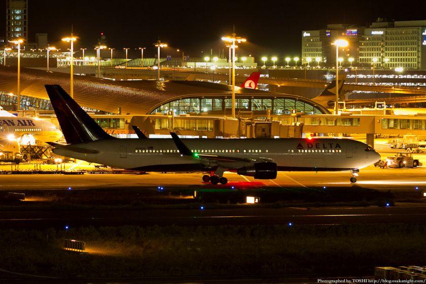 関西国際空港 夜景 2012年9月 05