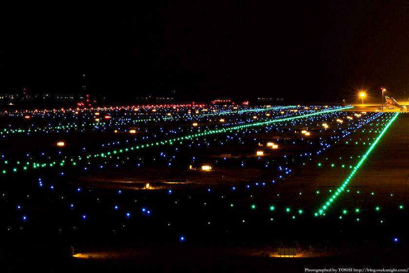 関西国際空港 夜景 2012年9月 06