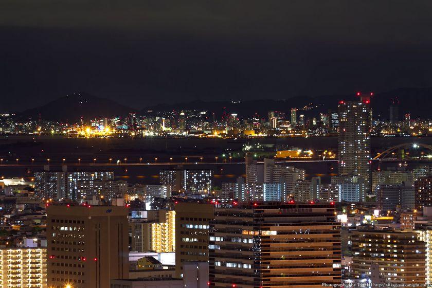 神戸市内方面 夜景 from オリックス本町ビル 2012年5月