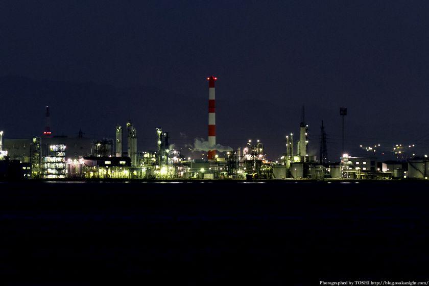 堺浜から見た堺泉北臨海工業地帯 01