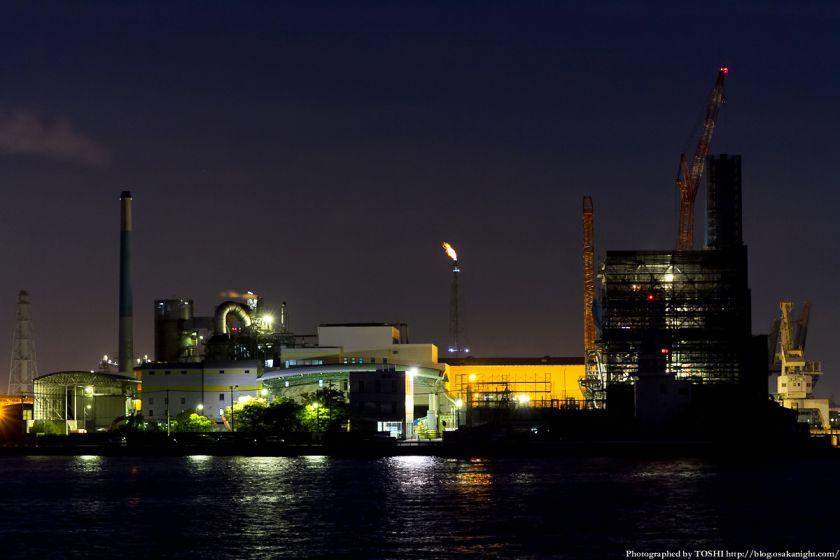 堺浜から見た堺泉北臨海工業地帯 02