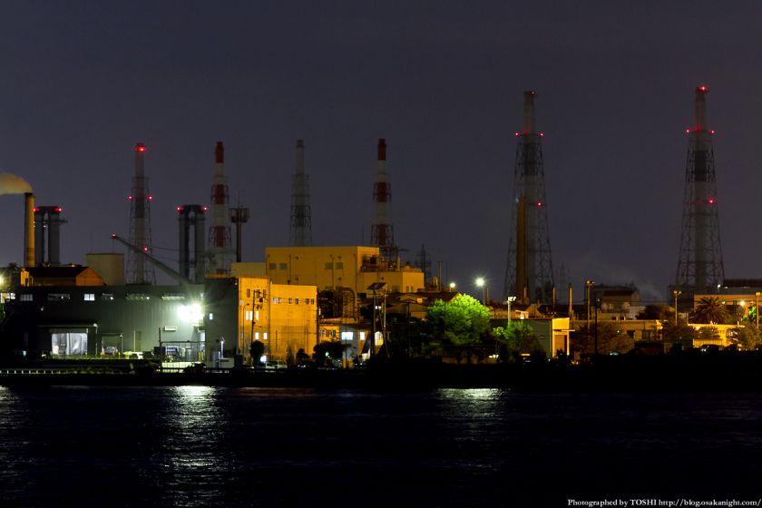 堺浜から見た堺泉北臨海工業地帯 03