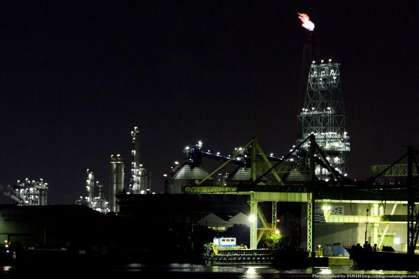 堺浜から見た堺泉北臨海工業地帯 05