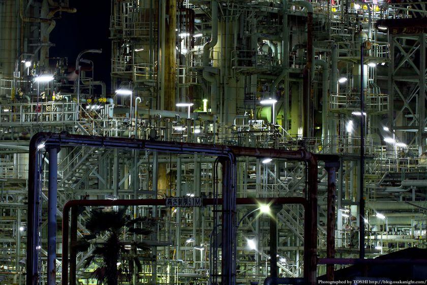 東燃ゼネラル石油 堺工場 夜景 05