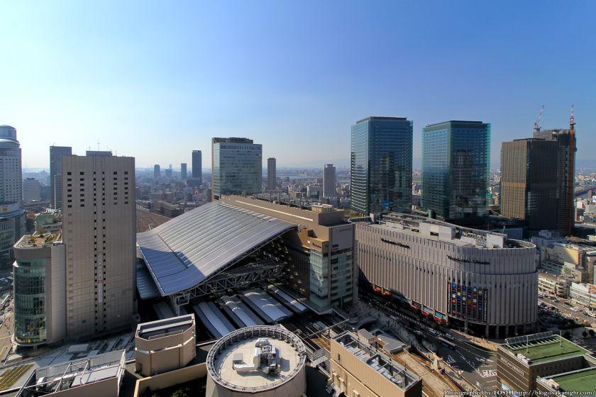 大阪駅とグランフロント大阪 2012年10月