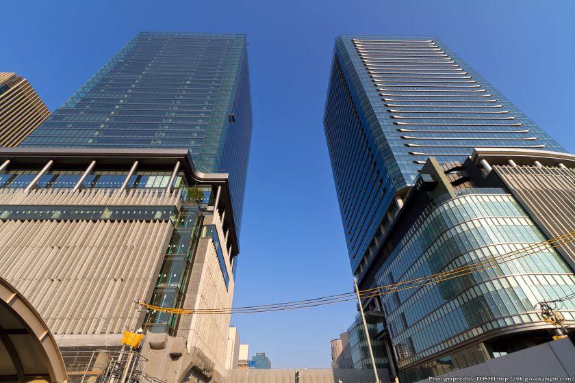 グランフロント大阪 AブロックとBブロック南 2012年10月