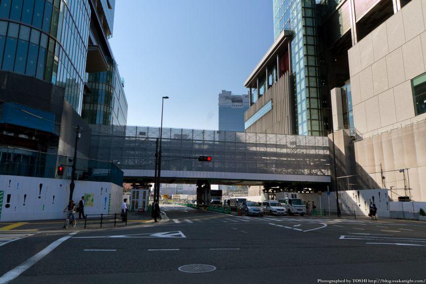グランフロント大阪 連絡通路 2012年10月