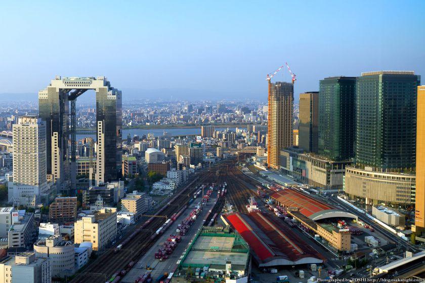 梅田北ヤード2期地区 全景 2012年10月