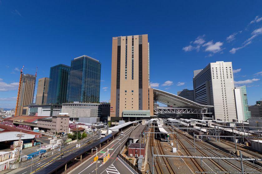 大阪ステーションシティとグランフロント大阪 2012年10月